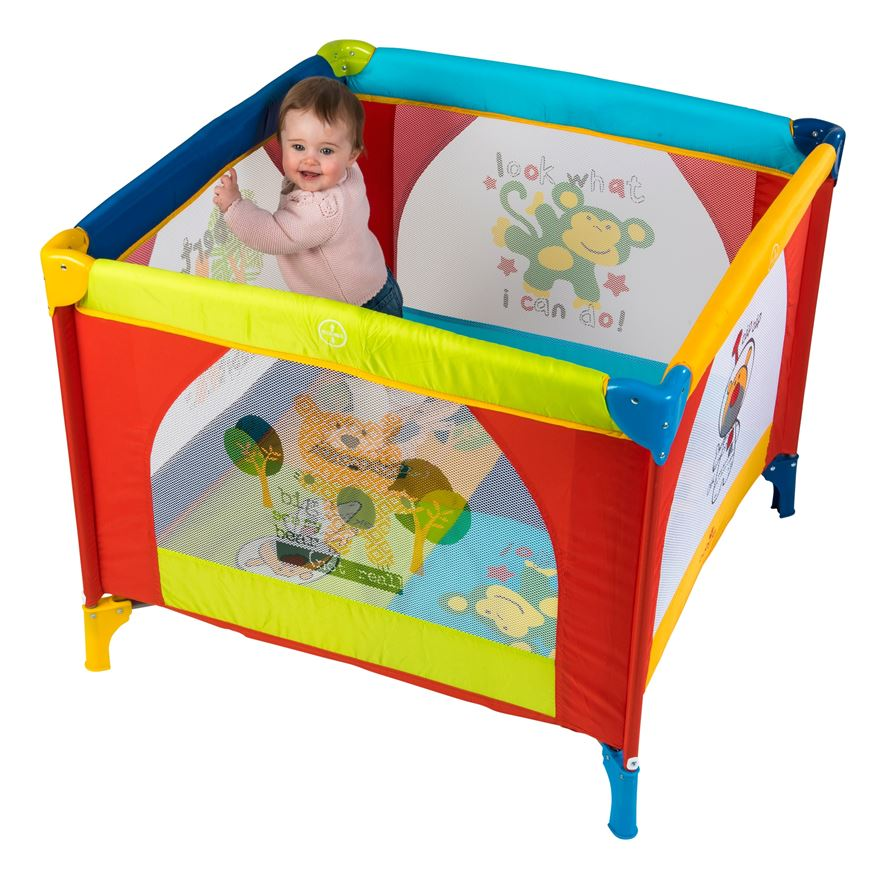 Babylo Safari Friends Playpen image-0