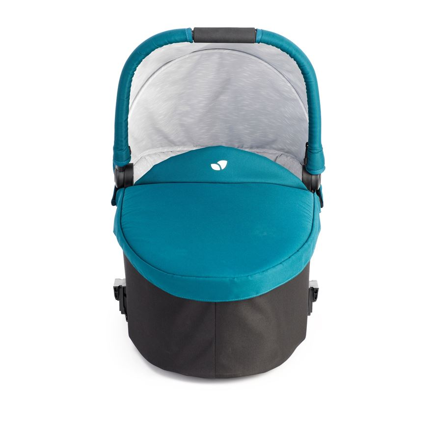 Joie Chrome Carry Cot-Jade image-0