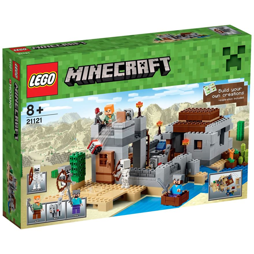 LEGO Minecraft The Desert Outpost 21121 image-0