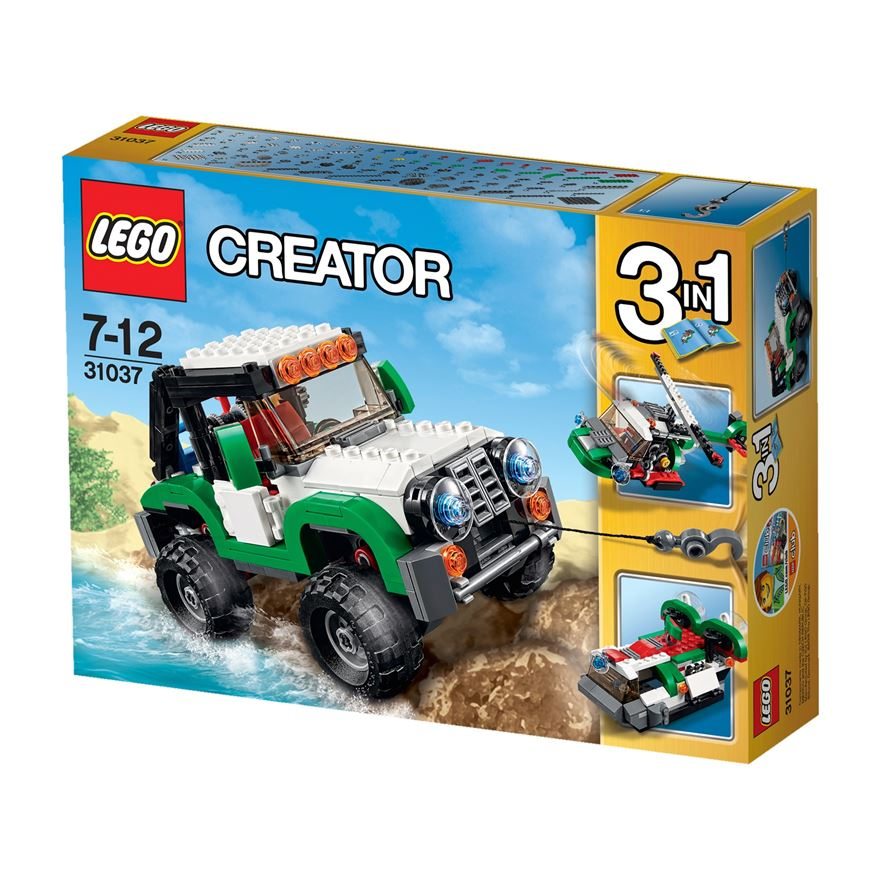 LEGO Creator Adventure Vehicles 31037 image-0