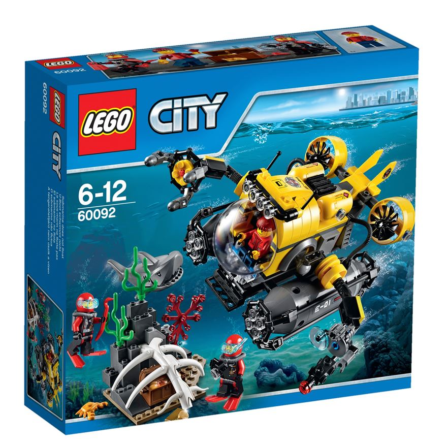 LEGO City Deep Sea Submarine 60092 image-0