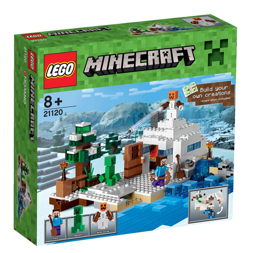 LEGO Minecraft The Snow Hideout 21120 image-0