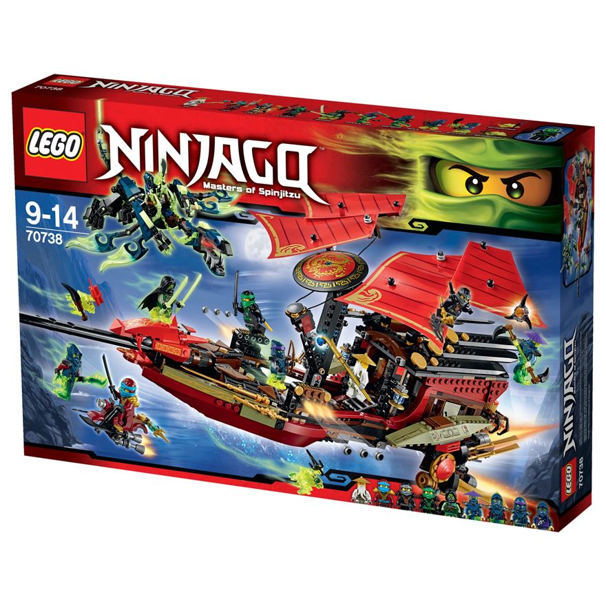 LEGO Ninjago Masters of Spinjitzu Final Flight of Destiny's Bounty 70738 image-0