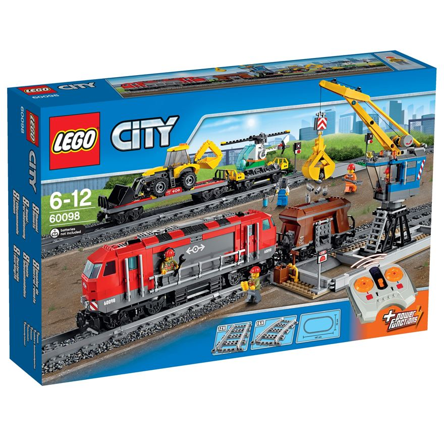 LEGO City Heavy-Haul Train 60098 image-0