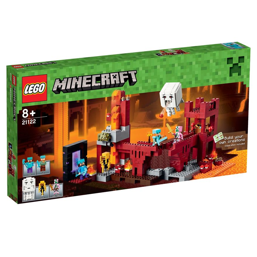 LEGO Minecraft The Nether Fortress 21122 image-0