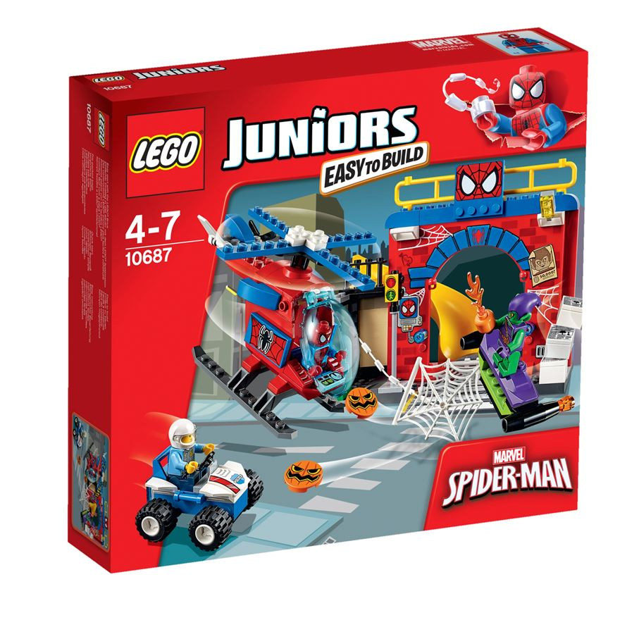 LEGO Juniors Marvel Super Heroes Spider-Man Hideout 10687 image-0