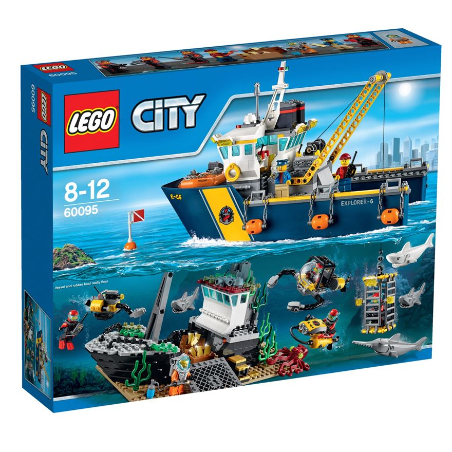 LEGO City Deep Sea Exploration Vessel 60095 image-0