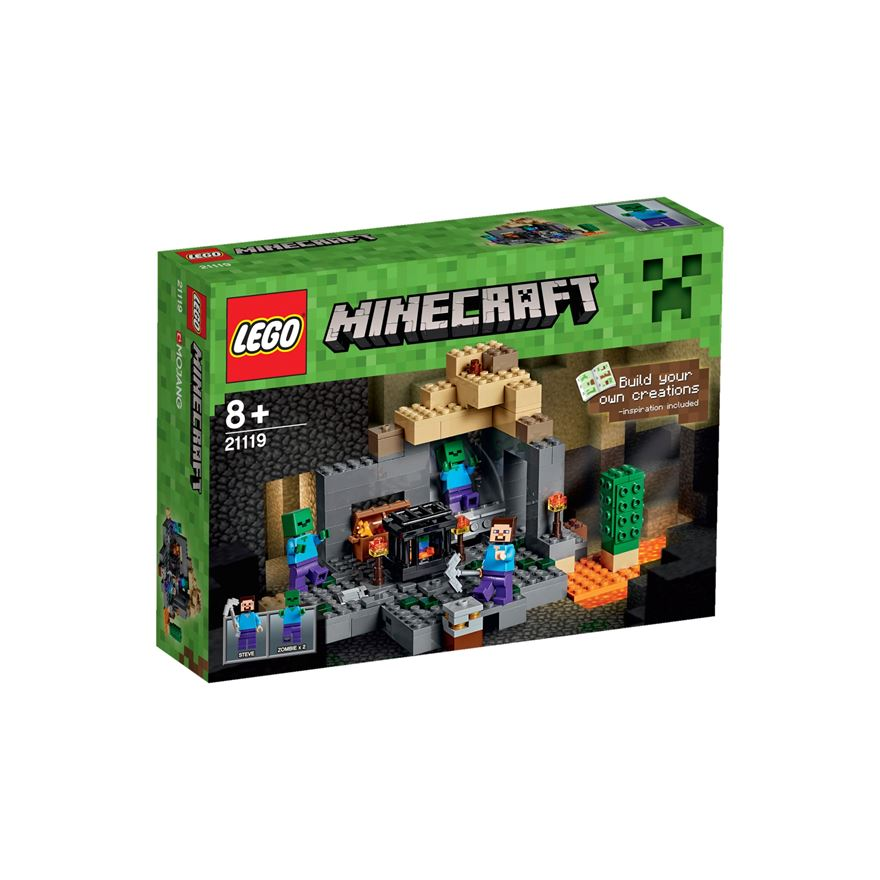 LEGO Minecraft The Dungeon 21119 image-0