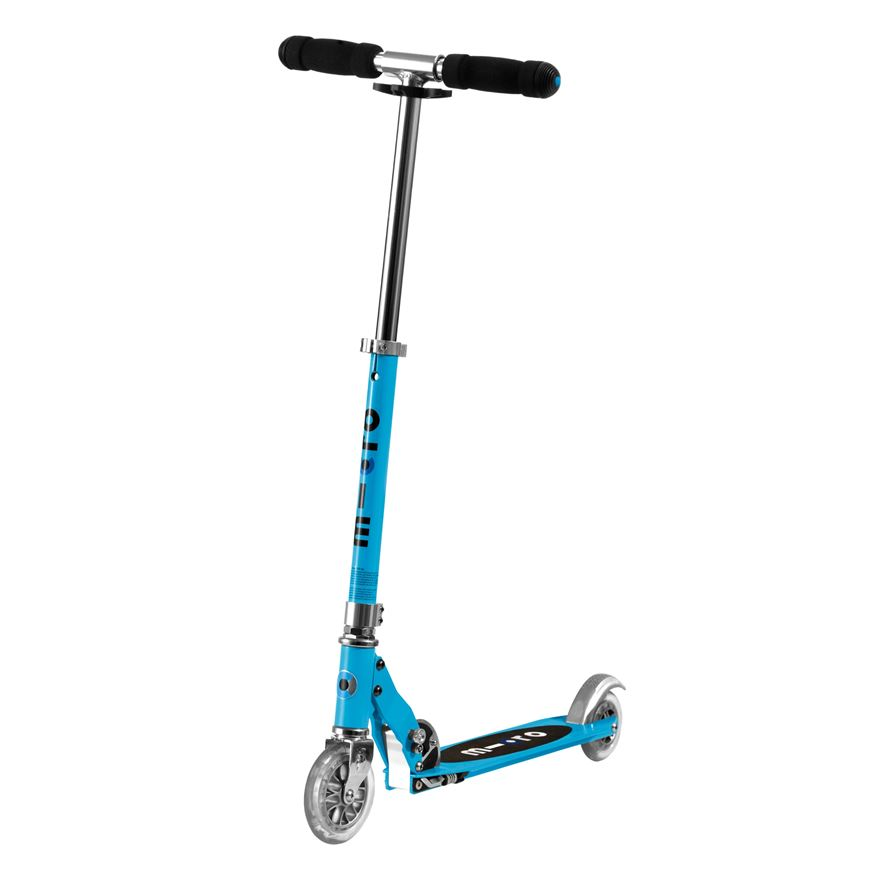 Micro Sprite Blue Scooter image-0