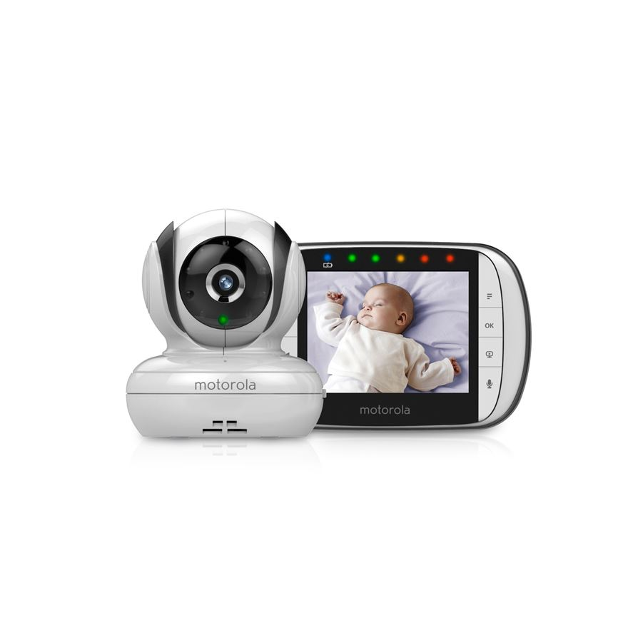 Motorola MBP36S Digital Video Baby Monitor image-0