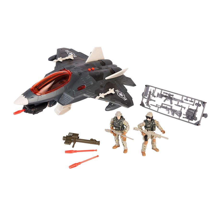 Soldier Force Sky Combat Jet image-0