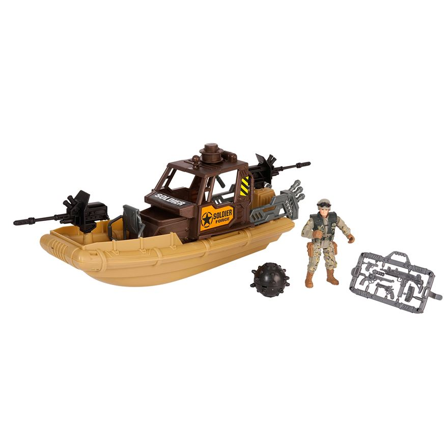 Soldier Force Patrol Vehicle Assortment image-0