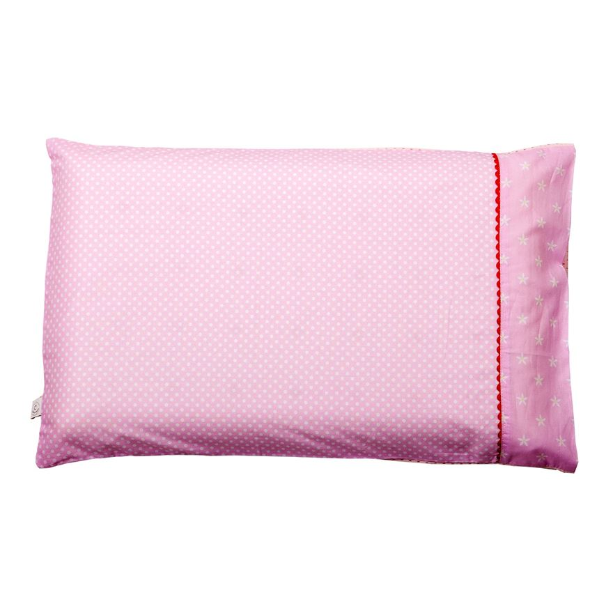 Clevamama Baby Pillow Case - Pink image-0