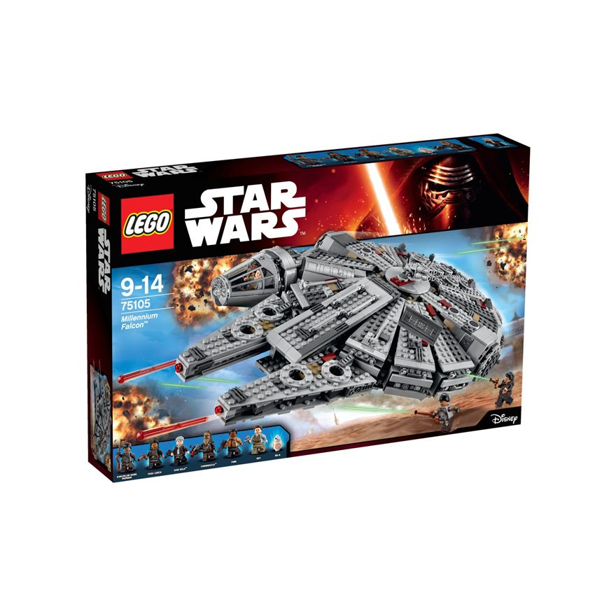 LEGO Star Wars Force Awakens Millennium Falcon 75105 image-0