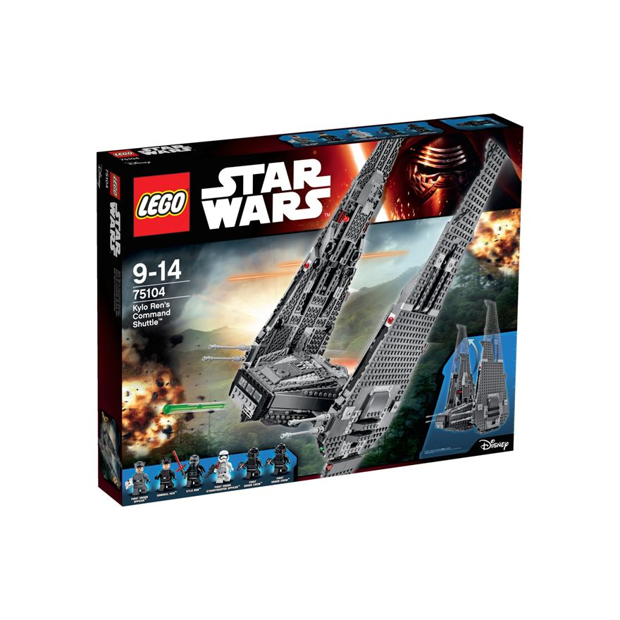 LEGO Star Wars Force Awakens Kylo Ren's Command Shuttle 75104 image-0