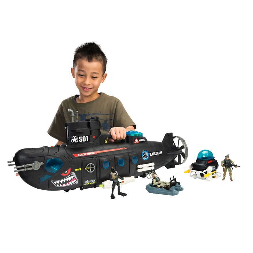 Soldier Force Submarine Playset image-0
