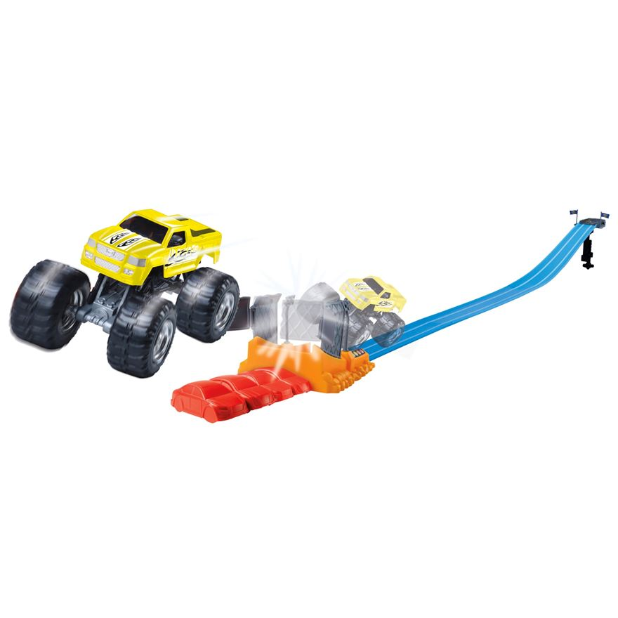Mighty Monsters Truck Track Set image-0