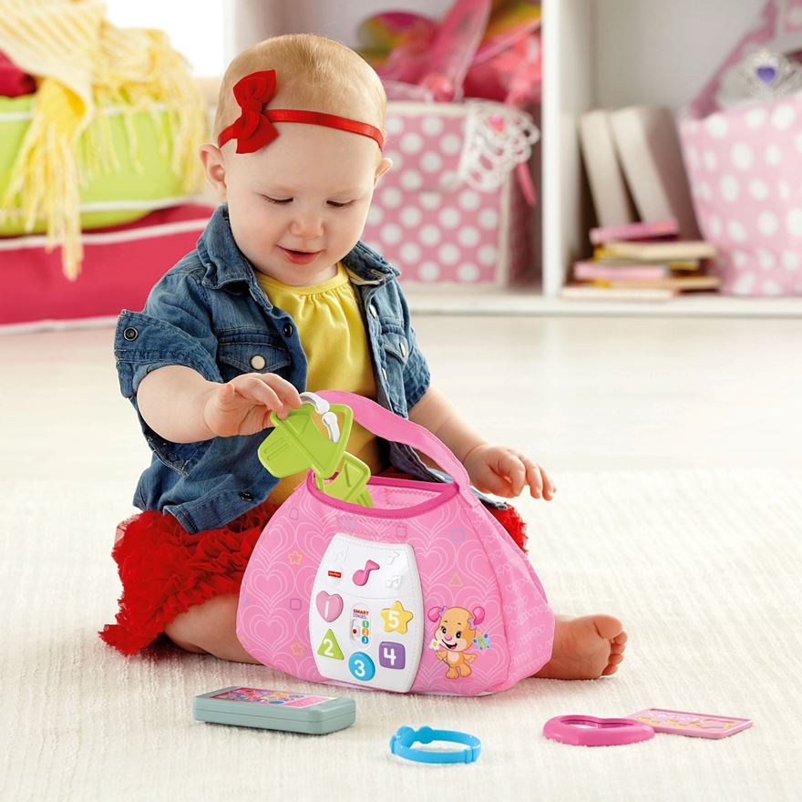 Fisher-Price Laugh and Learn Sis' Smart Stages Purse image-0