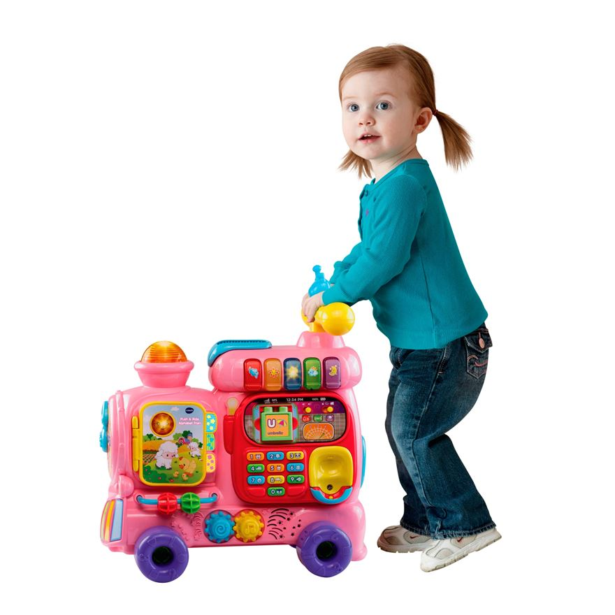 VTech Push and Ride Alphabet Train image-0