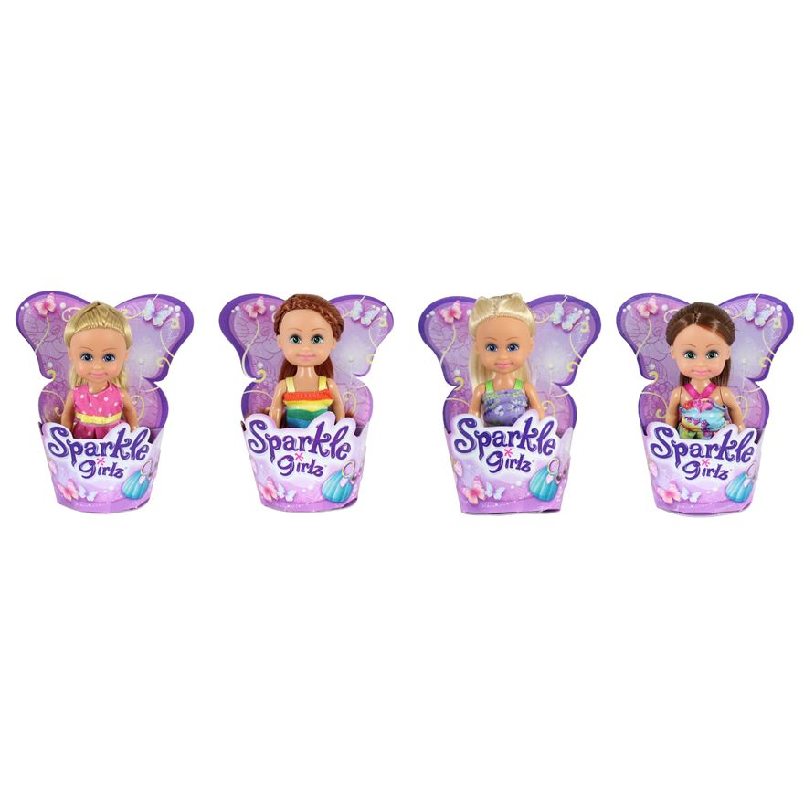 Sparkle Girlz 11cm Cupcake Doll Assorted image-0