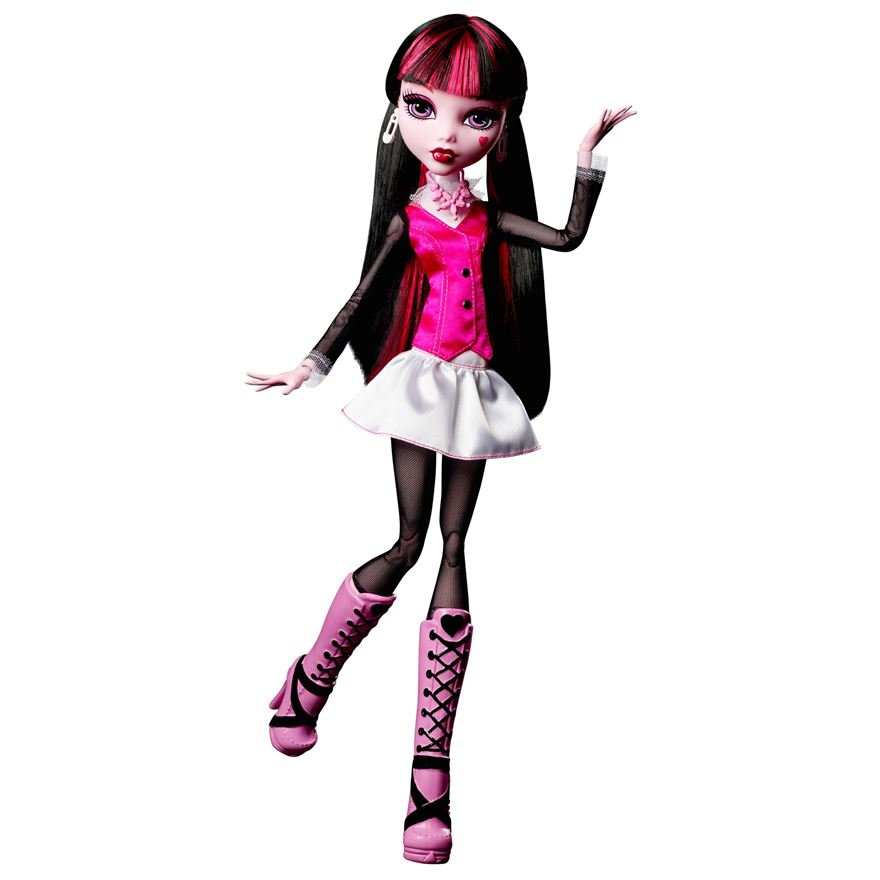 Monster High Frightfully Tall Draculaura Doll image-0
