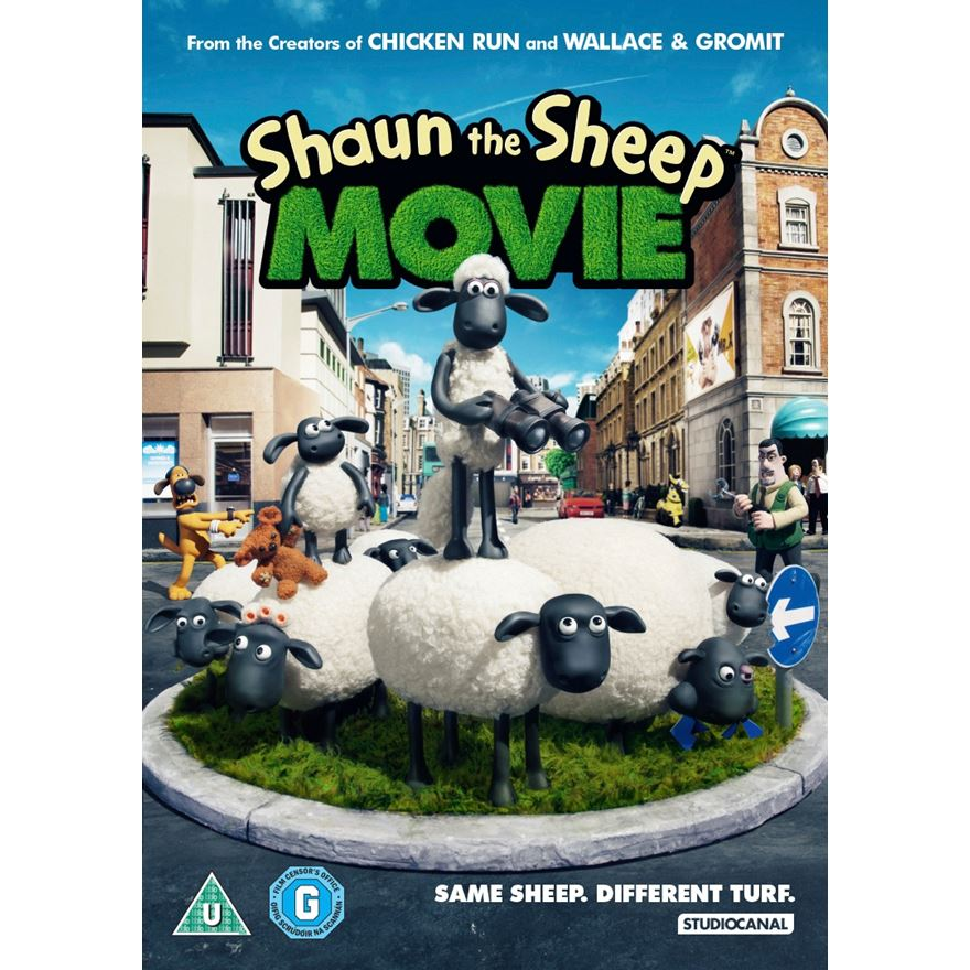Shaun the Sheep The Movie DVD