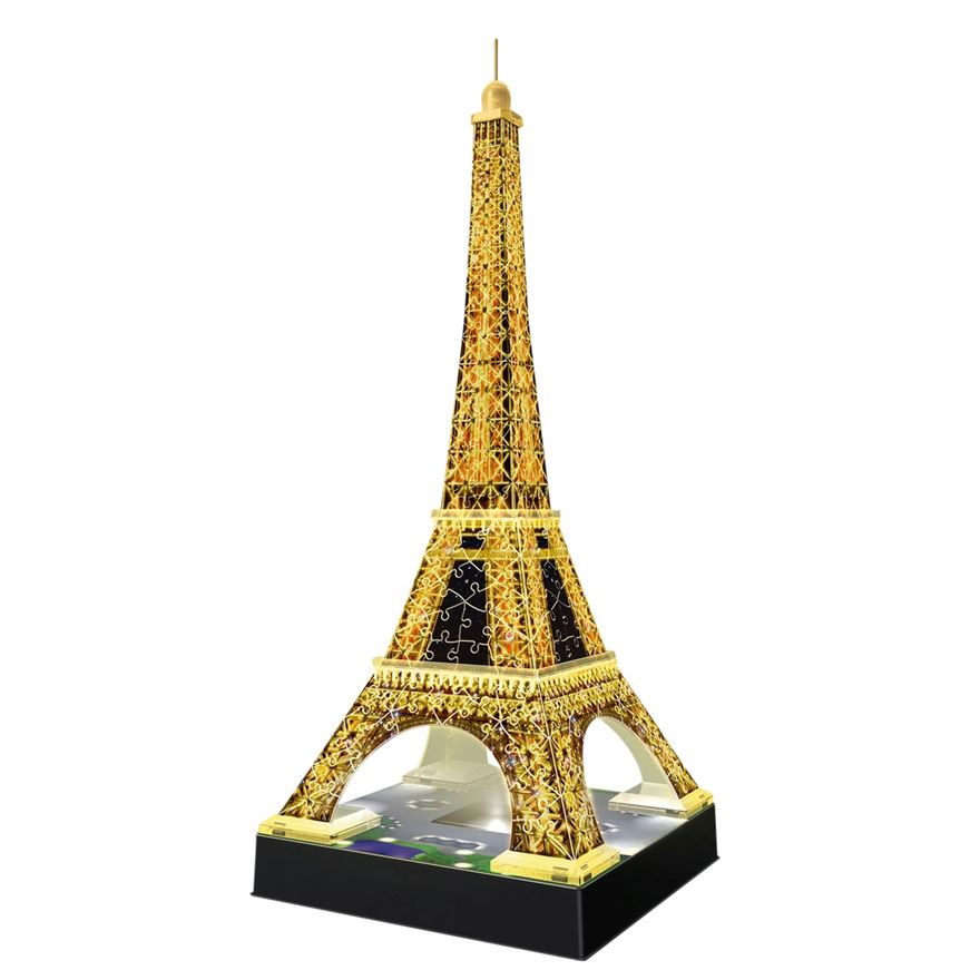 Eiffel Tower 3D Puzzle with Lights image-0