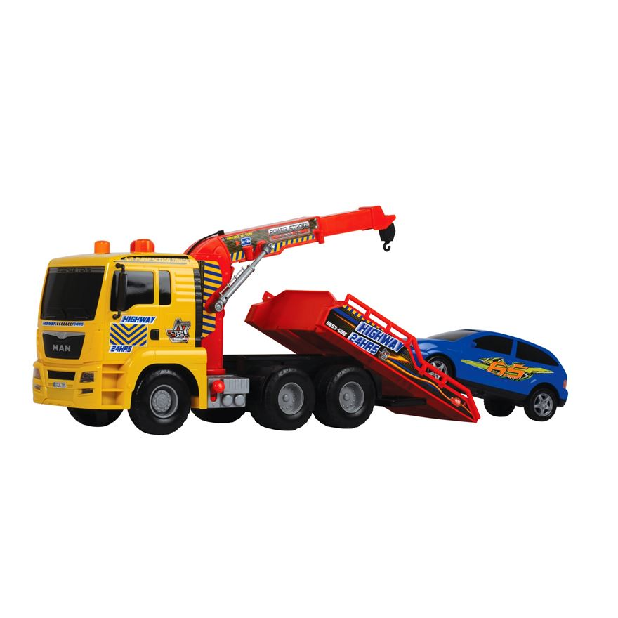55cm Tow Truck and car image-0