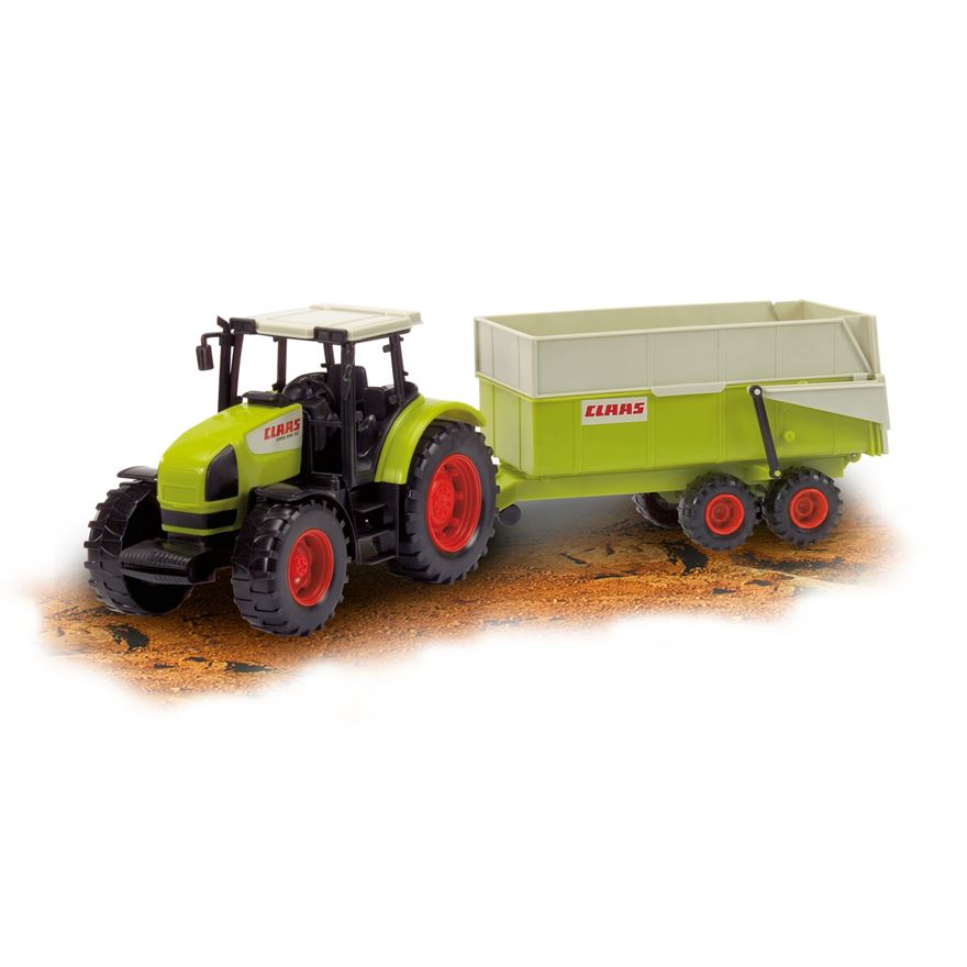 Claas Ares Set with Tractor image-0