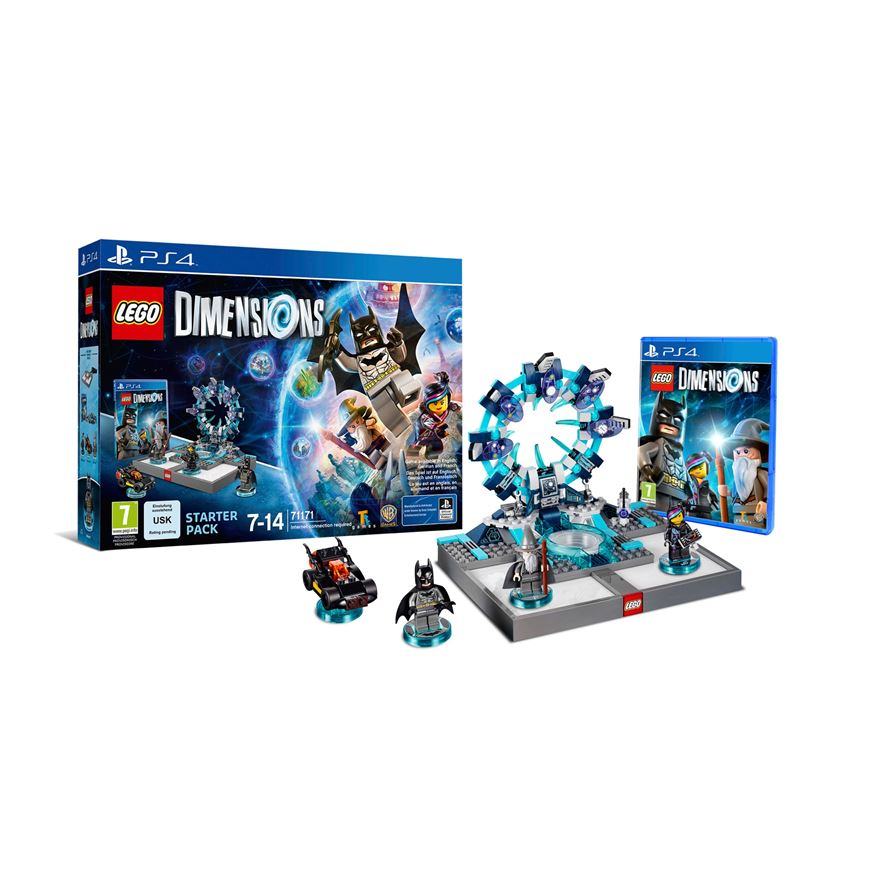 LEGO Dimensions Starter Pack PS4 image-0