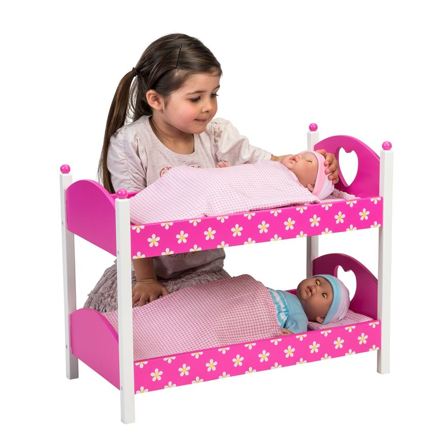 Dolls Wooden Bunk Beds image-0