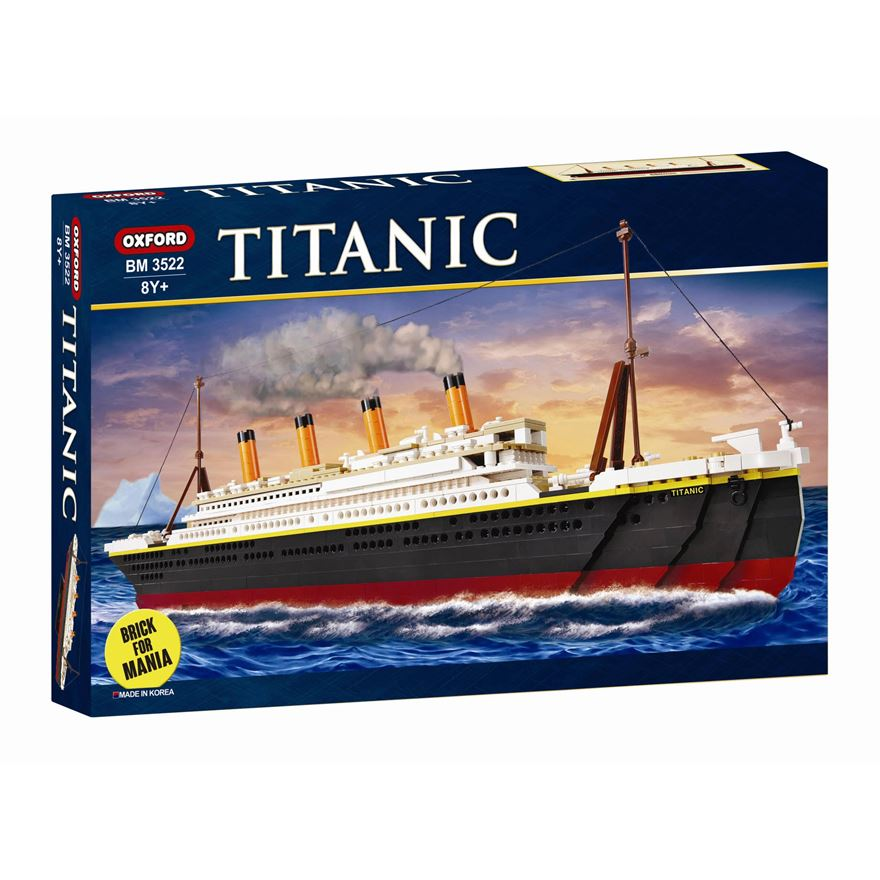 Oxford Deluxe Titanic Construction Set image-0