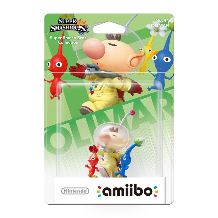 Nintendo amiibo Olimar Super Smash Bros series