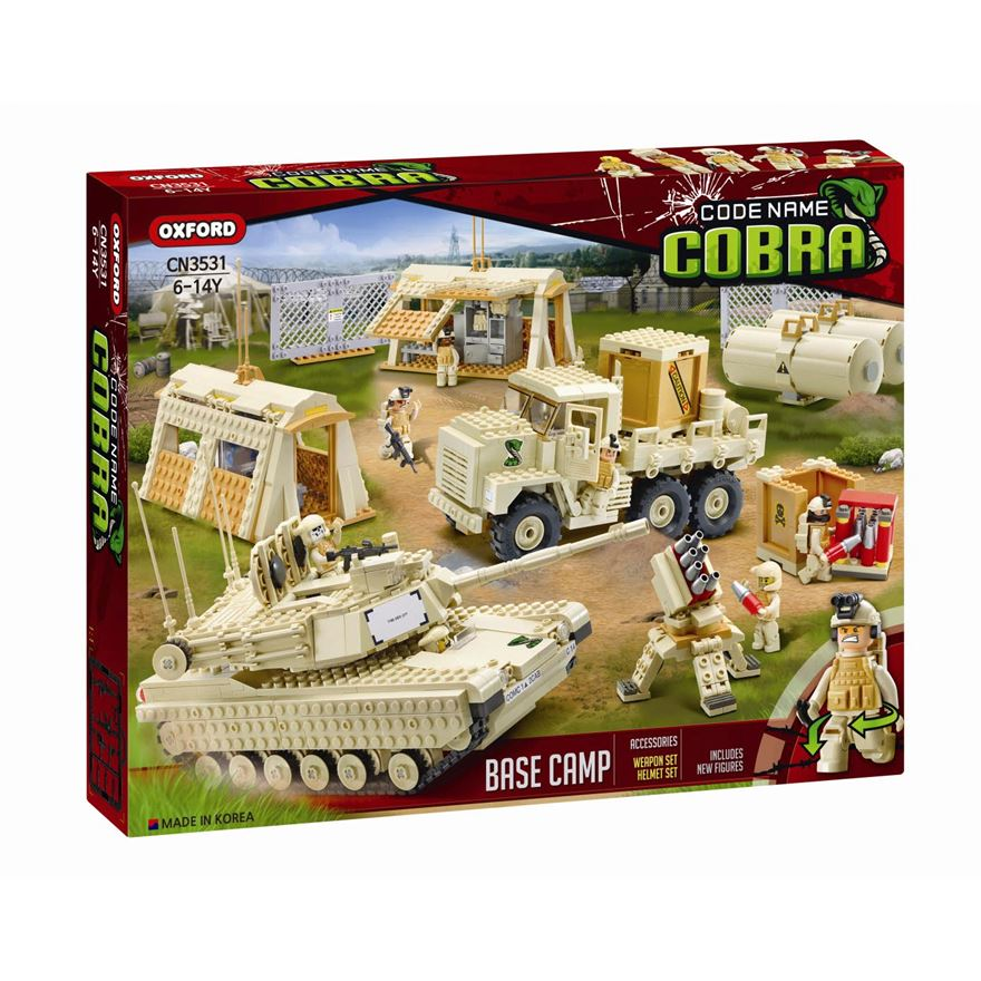 Oxford Cobra Base Camp Set image-0