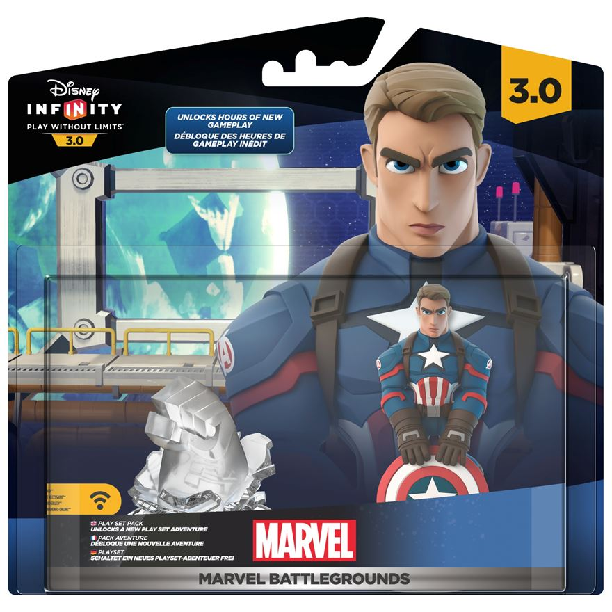 Disney Infinity 3.0 Marvel Battlegrounds Play set image-0