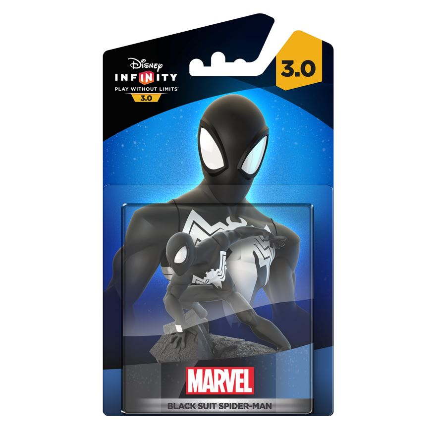 Disney Infinity 3.0 BlackSuit Spiderman Figure