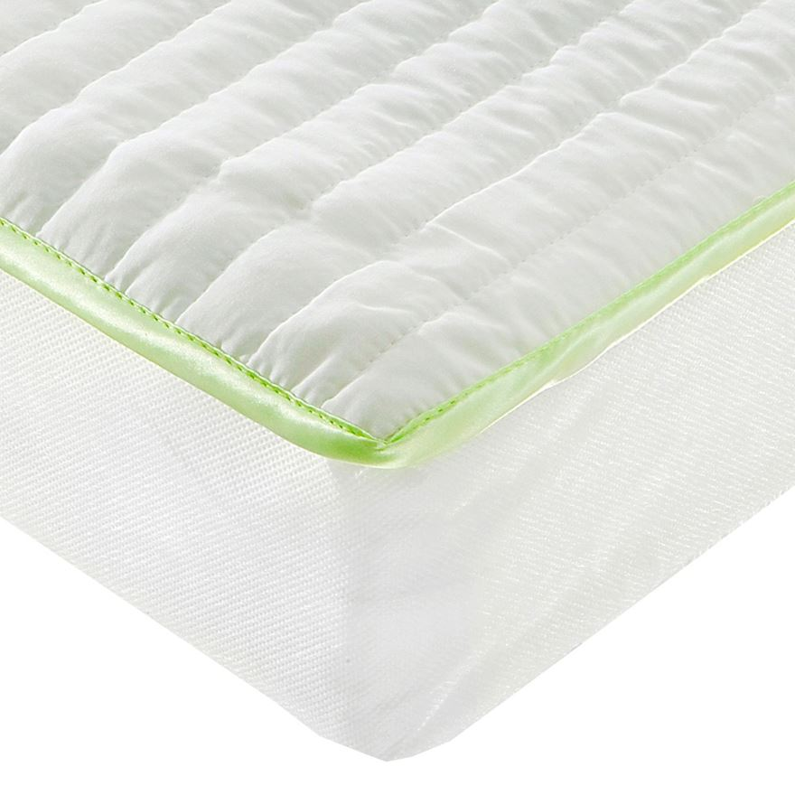 Baby Elegance Microfibre Mattress - Cot Bed image-0