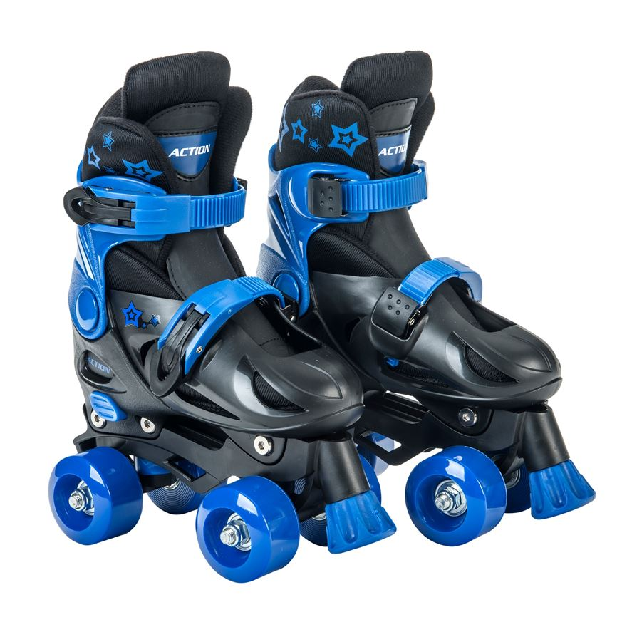 Adjustable Quad Skate 1-3 (UK) Blue/Black image-0
