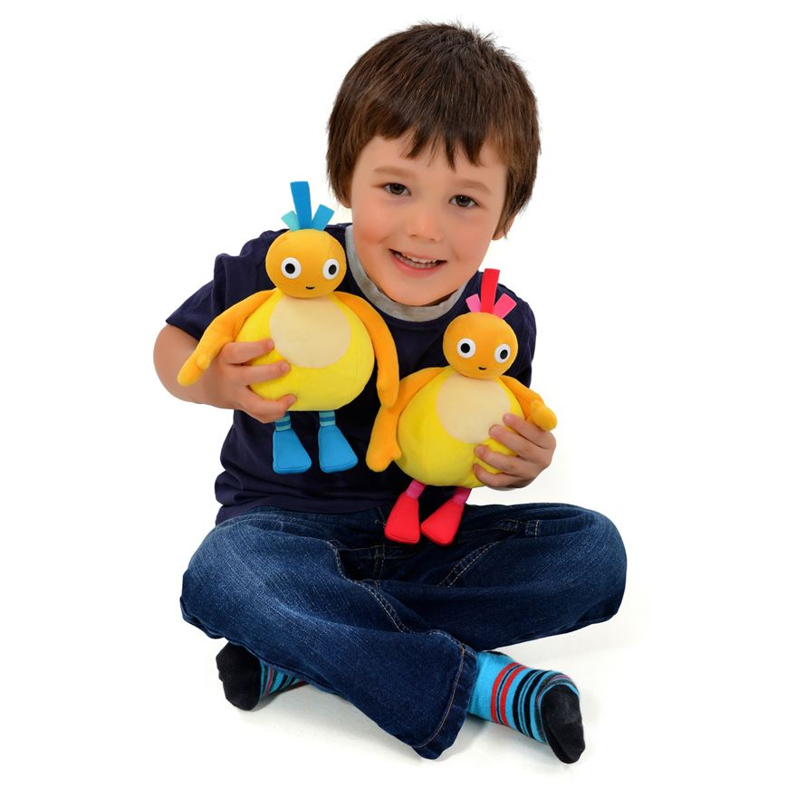 Twirlywoos Talking Chickedy and Chick Soft Toys image-0