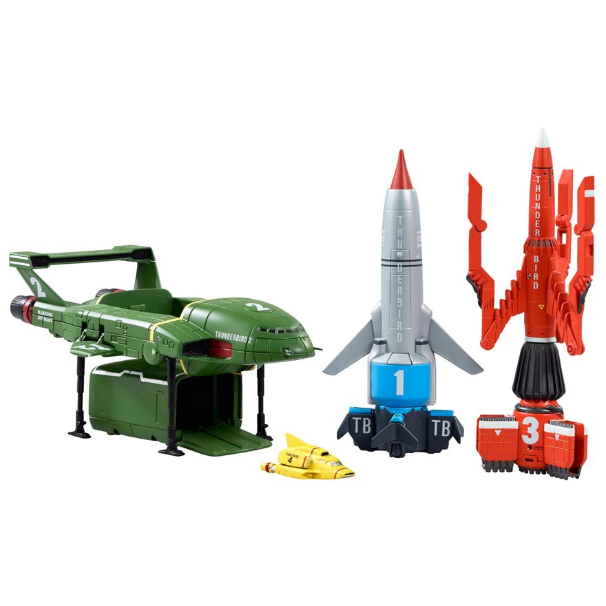 Thunderbirds Vehicle Super Set image-0