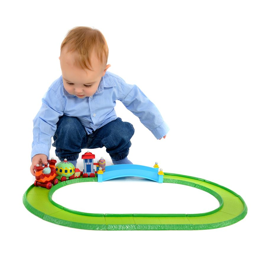 In The Night Garden - Ninky Nonk Train and Track Set image-0