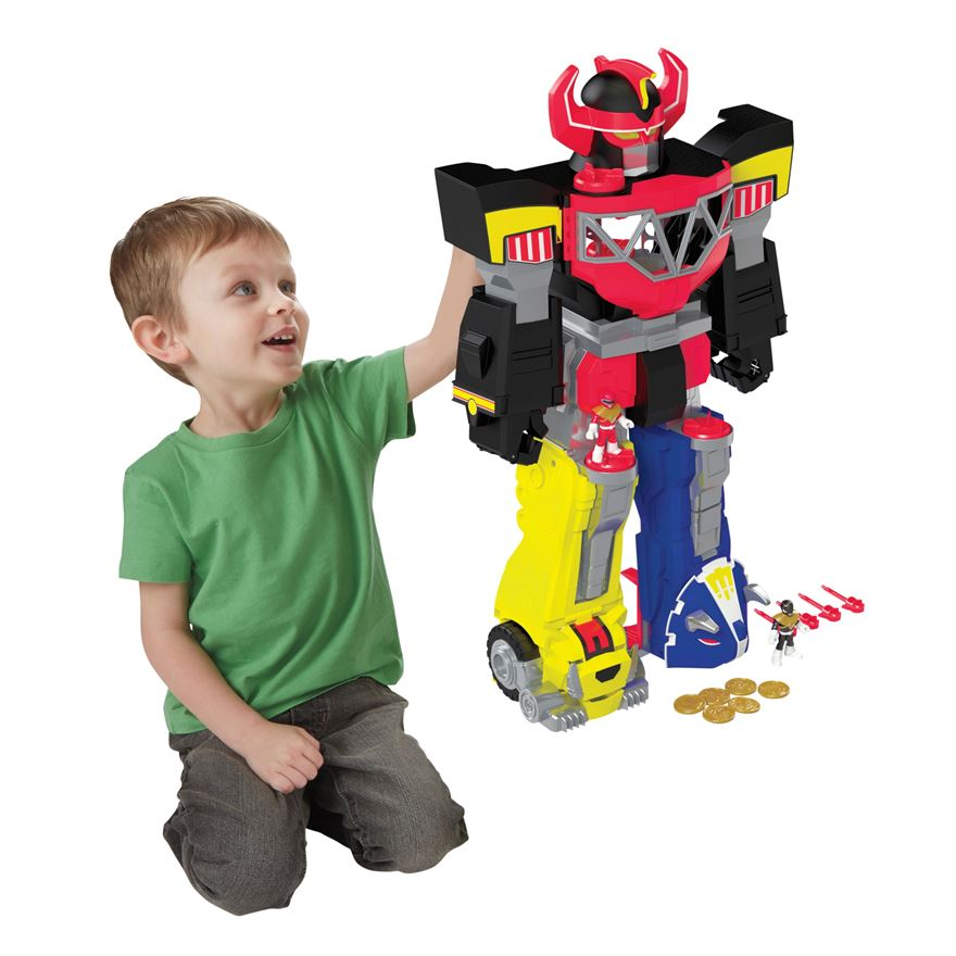 Fisher-Price Imaginext Morphin Megazord Power Rangers image-0