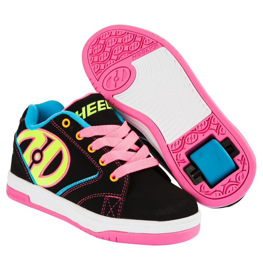 Heelys Propel 2.0 Black/Neon/Multi UK 1 image-0