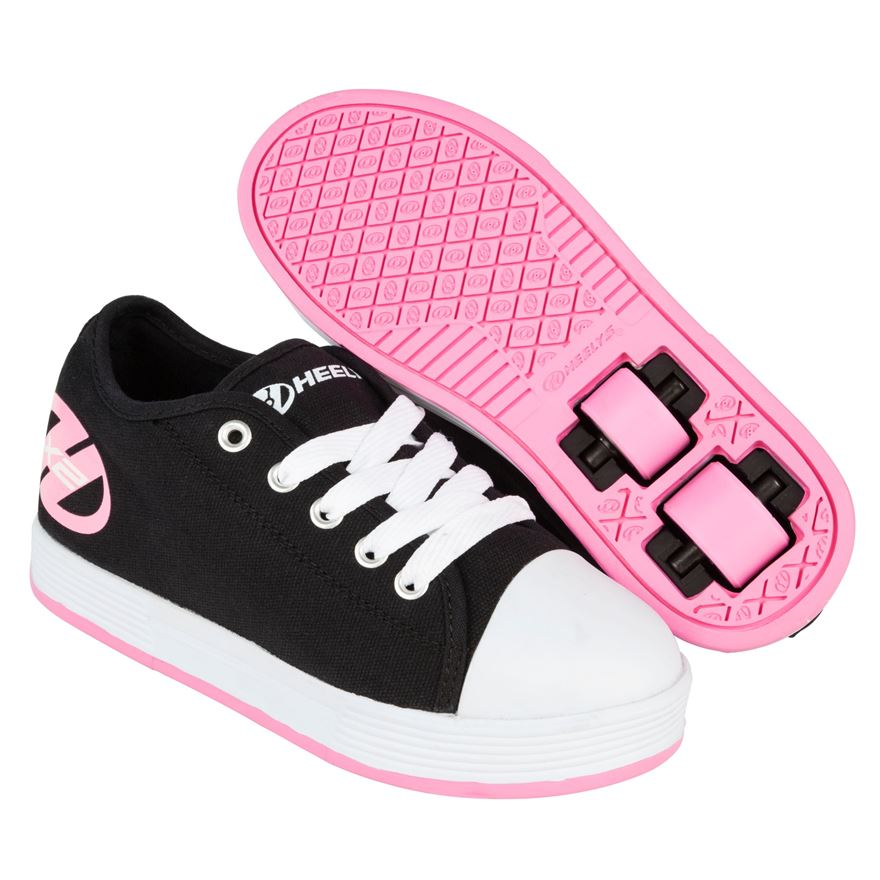 Heelys Fresh Black/Pink UK 3 image-0