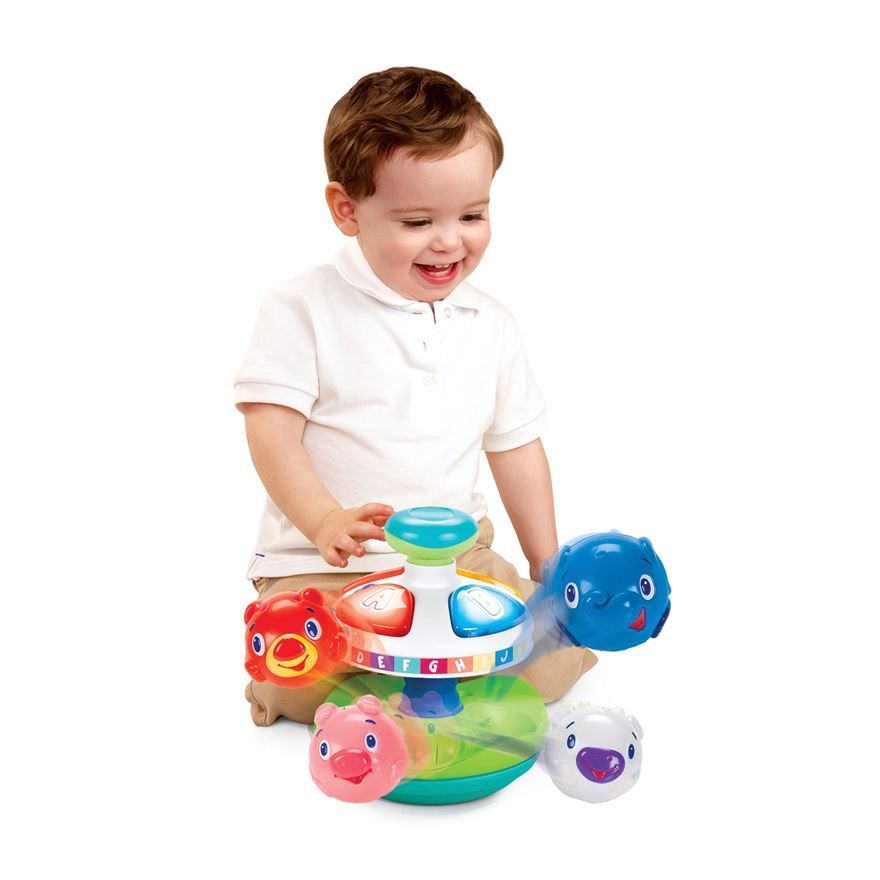 Bright Starts Having a Ball Alphabet Pop Top image-0