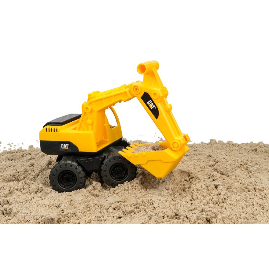 CAT Construction Crew Excavator image-0
