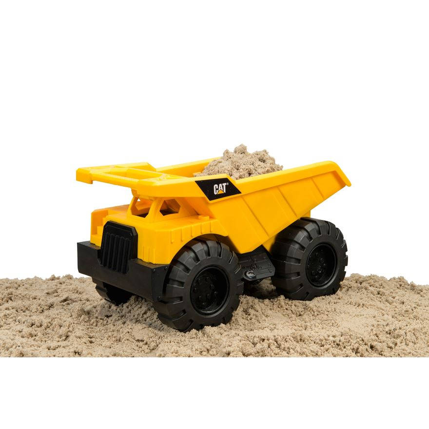 CAT Construction Crew Dump Truck image-0
