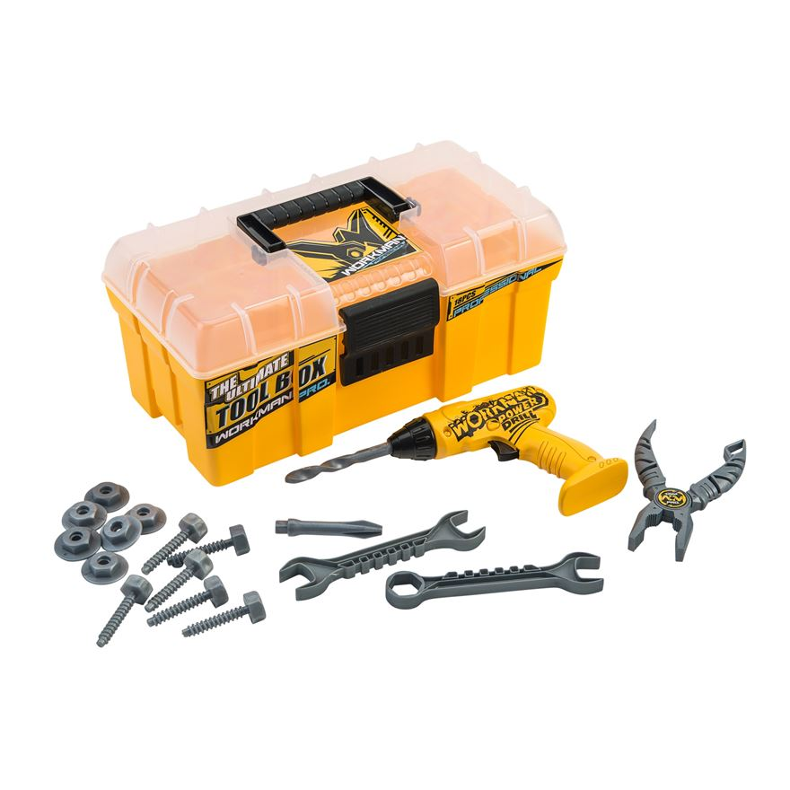 Workman Ultimate Tool Box With Drill image-0