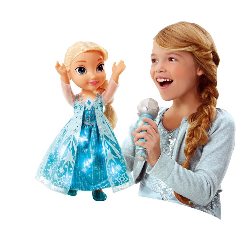 Disney Frozen Sing Along with Elsa Doll image-0