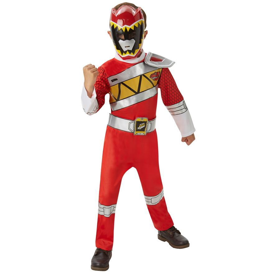 Red Dino Charge Power Ranger Medium Costume